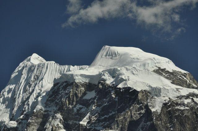 Zdjęcia: Langshisha Kharka, Langshisha Kharka, Wierzchołki Langshisha Ri, NEPAL