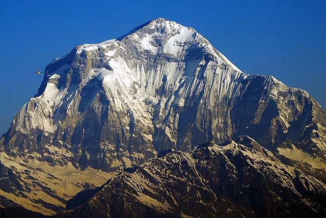 Zdj�cia: Trekking w rejonie Annapurna, Annapurna, Dhaulagiri 8167 m , NEPAL