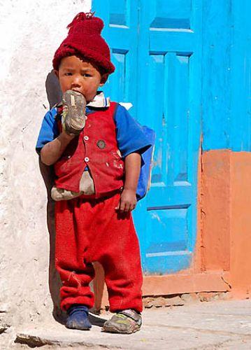 Zdjęcia: Trekking w rejonie Annapurna, Annapurna, Oblicza Nepalu..., NEPAL