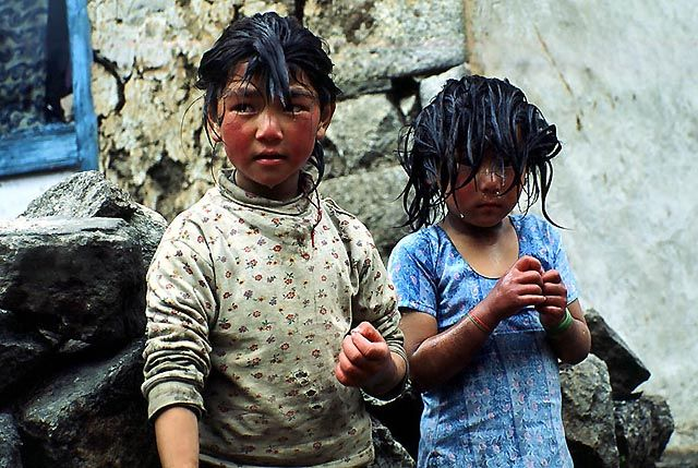 Zdj�cia: gdzies ....., nepal, oblicza ...., NEPAL