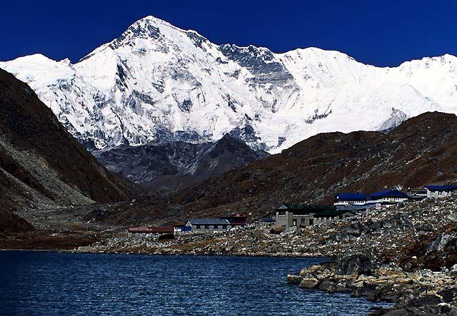 Zdjęcia: Trekking w rejonie Mount Everestu, Himalaje, Cho Oyu 8201 m, NEPAL