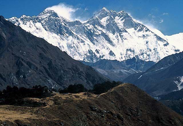 Zdjęcia: Trekking w rejonie Mount Everestu, Himalaje, Lhotse 8511 i Mount Everest 8848 m, NEPAL
