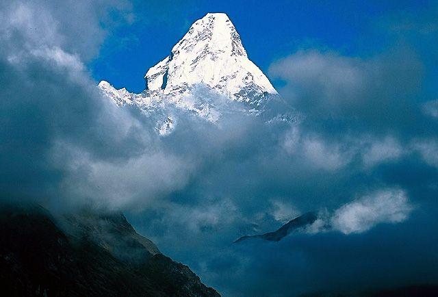 Zdjęcia: Trekking w rejonie Mount Everestu, Himalaje, Ama Dablam, NEPAL