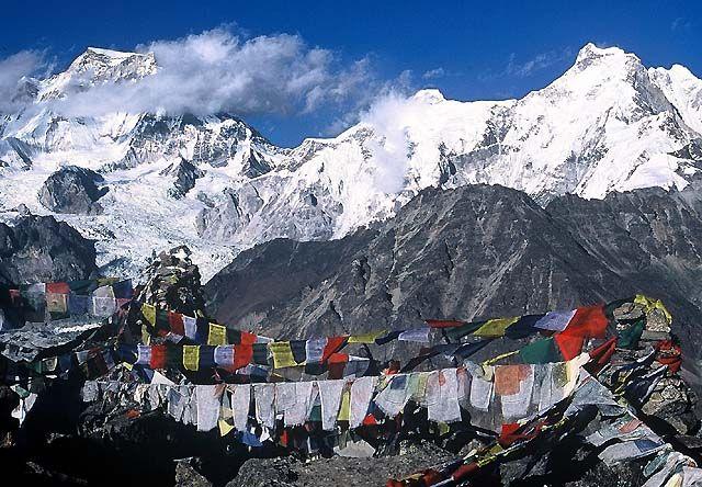Zdjęcia: Trekking w rejonie Mount Everestu, Himalaje, Na Gokyo Ri, NEPAL