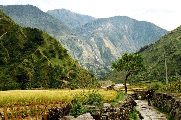 Zdjęcia: Droga do Pokary, Annapurna, Jomson Trek, NEPAL