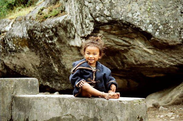 Zdjęcia: Kalopani, Annapurna, Nepalka, NEPAL