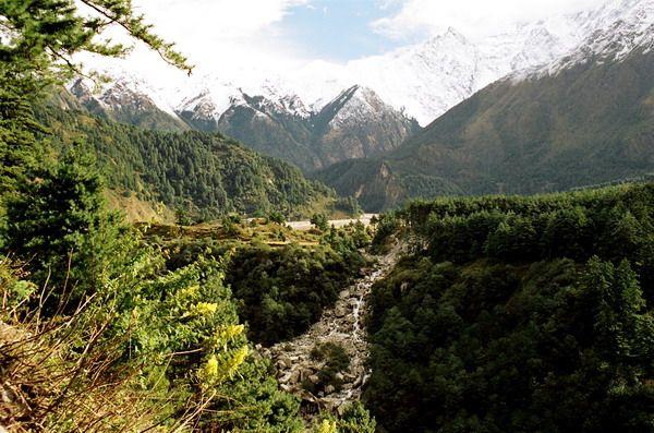 Zdjęcia: Blisko Tatopani, Annapurna, Himalaje, NEPAL