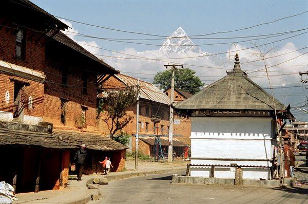 Zdjęcia: Stare miasto w Pokarze, Pokara, NEPAL