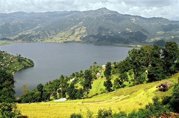 Zdjęcia: Jezioro w Pokarze, Pokara, NEPAL
