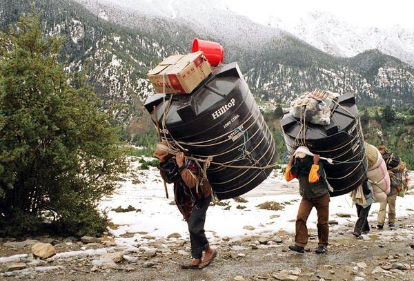Zdjęcia: Jomson Trek, Annapurna, Siłacze, NEPAL