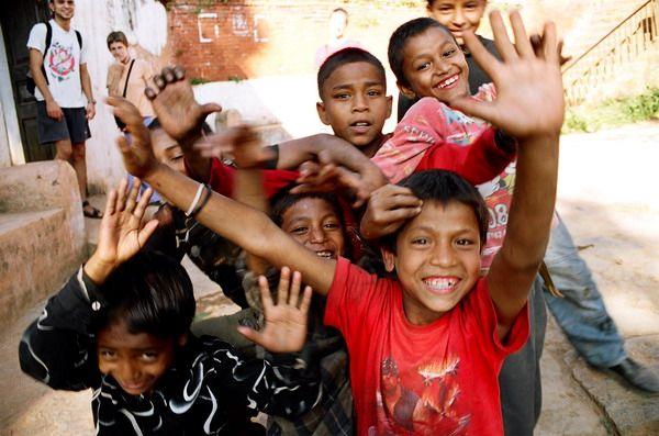 Zdjęcia: Tansen, Annapurna, Dzieciaki, NEPAL