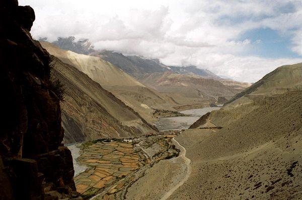 Zdjęcia: Kagbeni, Annapurna, Wioska Kagbeni, NEPAL