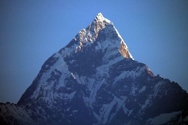Zdjęcia: Himalaje, Machapuchare - Święta góra Nepalu, NEPAL