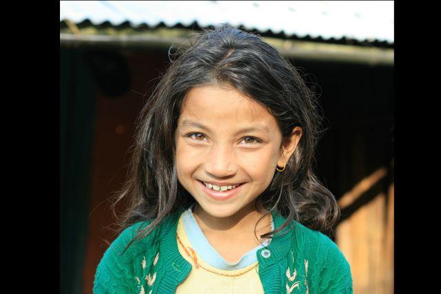 Zdj�cia: Sarangkot, Okolice Pokhary, Mieszkanka Sarangkot, NEPAL