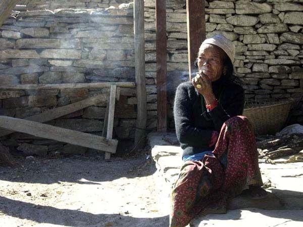 Zdjęcia: Jomoson, Dolina Kali Kandaki, Thakalka, NEPAL
