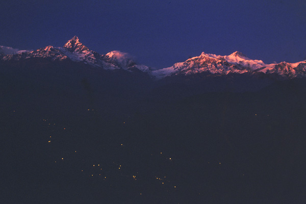 Zdjęcia: Himalaje - Pokhara, Machhapuchhre i Annapurna, NEPAL