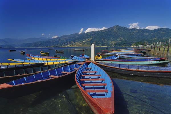 Zdjęcia: Pokhara, Przystań, NEPAL