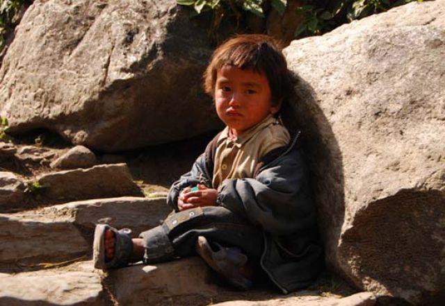 Zdjęcia: gdzies na szlaku, Himalaje, NEPAL