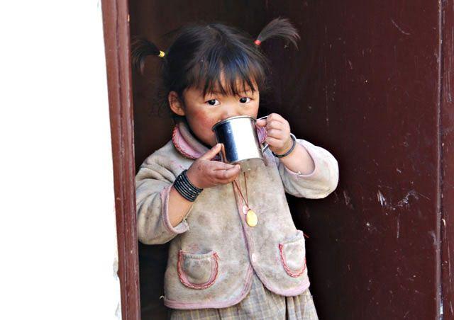 Zdjęcia: Marpha, Himalaje, cherbatka??, NEPAL