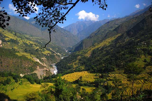 Zdjęcia: gdzies na szlaku, Himalaje, dolinka, NEPAL