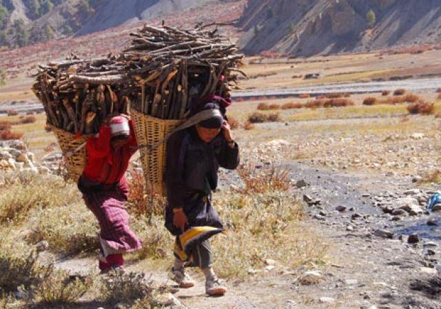Zdjęcia: Manang , Himalaje, codziennnosc, NEPAL