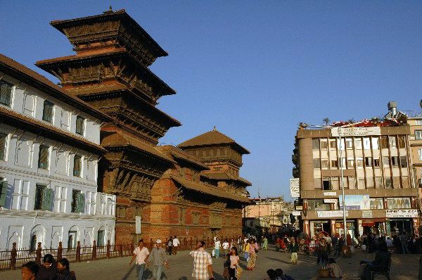 Zdjęcia: Durbar Square, Kathmandu, Durbar Square w Kathmandu, NEPAL