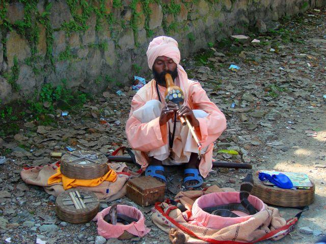 Zdjęcia: Pokhara, czarodziej, NEPAL