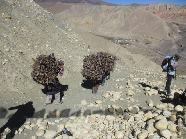 Zdjęcia: Dakmar, Mustang, Cenne drewno, NEPAL