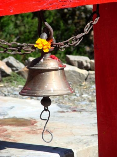 Zdjęcia: Jomson, komu dzwony, NEPAL