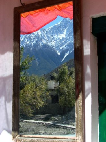 Zdjęcia: Jomson, z mojego okna nad ranem, NEPAL