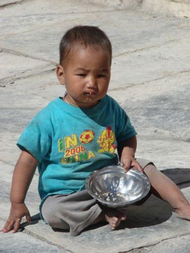 Zdjęcia: Jomson, w drodze do Kbeni, NEPAL