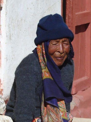 Zdjęcia: Jomson, starośc w Nepalu, NEPAL