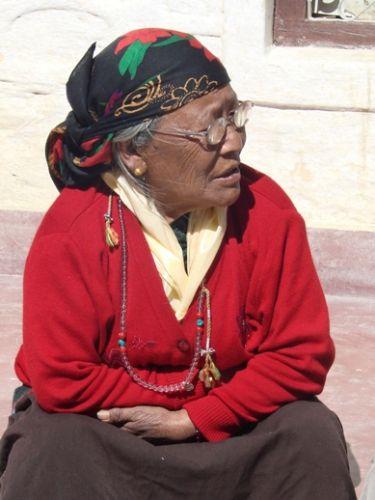 Zdjęcia: Jomson, chwila zadumy, NEPAL