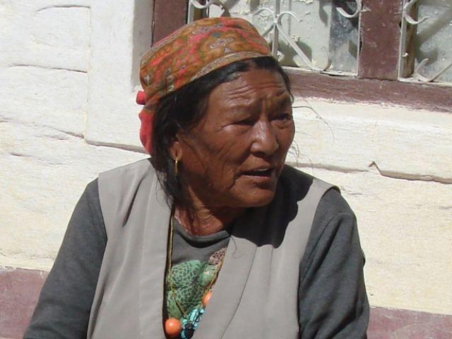 Zdjęcia: Jomson, zmarszczki na czole, NEPAL