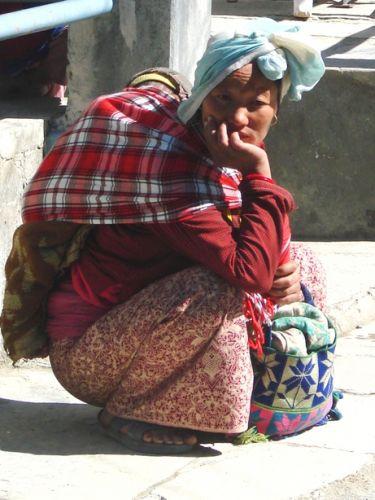 Zdjęcia: Jomson, zaduma nr 2, NEPAL