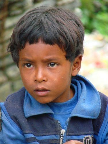 Zdjęcia: w drodze na sam dol Pokhara, portret, NEPAL