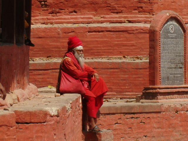 Zdj�cia: dolina Katmandu, Nepalski Miko�aj, NEPAL