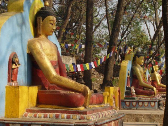 Zdjęcia: Dolina Katmandu-Swajambhunath, nepalski Budda, NEPAL