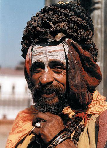 Zdjęcia: Kathmandu, sadhu z Pashupatinath, NEPAL