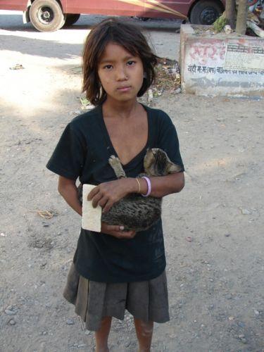 Zdjęcia: Dolina Kathmandu, Mała Nepalka, NEPAL