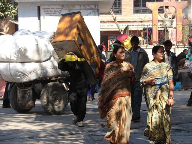 Zdjęcia: Kathmandu, Dolina Kathmandu, Przeprowadzka, NEPAL