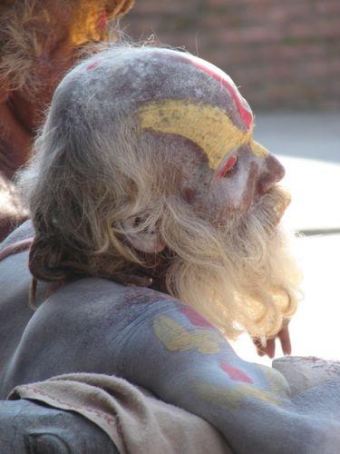 Zdjęcia: Kathmandu, Dolina Kathmandu, Święty maż, NEPAL