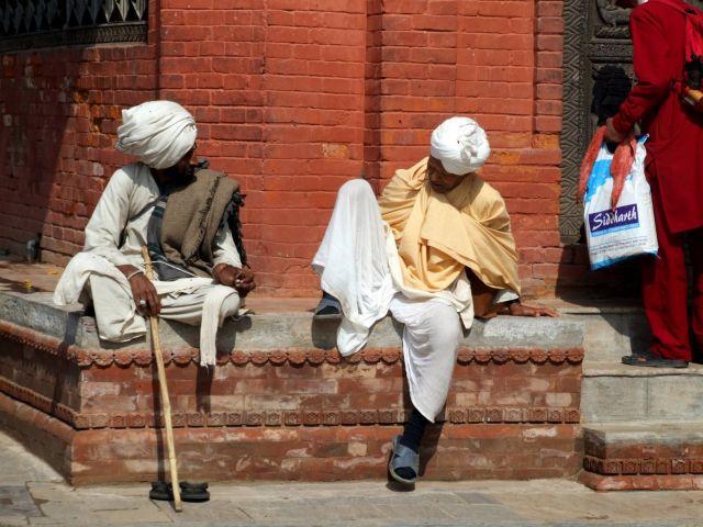 Zdj�cia: Kathmandu, Kathmandu, Chwila na ploteczki, NEPAL