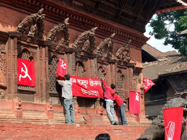 Zdjęcia: Kathmandu, Dolina Kathmandu, Kwietniowe wybory w Nepalu, NEPAL