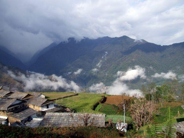 Zdjęcia: Gandrup, Trekking wokół Annapurny, Po deszczu, NEPAL