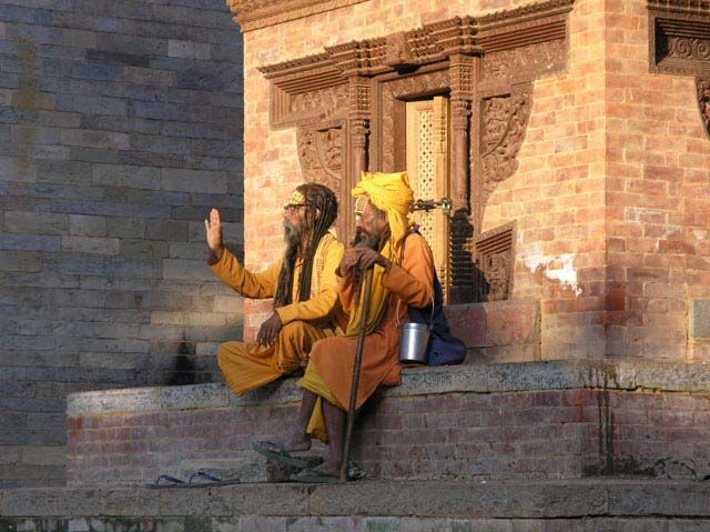Zdj�cia: Dubar Square, Kathmandu, Sathu_Good life??no thx:), NEPAL