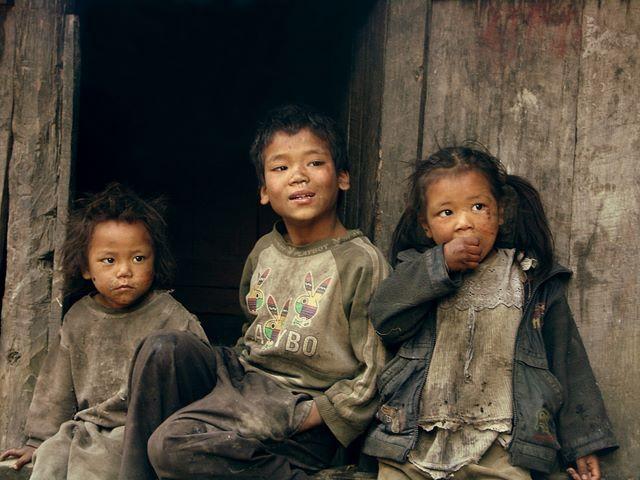 Zdjęcia: NEPAL, Annapurna TREK, Brudaski ale szczęśliwe :), NEPAL