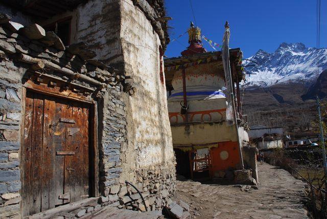 Zdjęcia: NEPAL, Annapurna TREK, Stupa, NEPAL