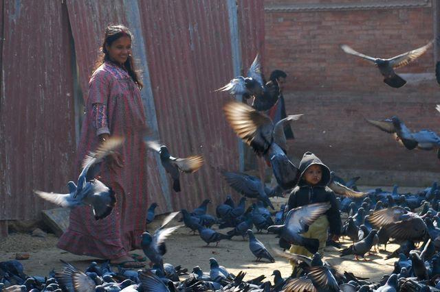Zdjęcia: Kathmandu - Thamel, Dolina Kathmandu, Przelotna chwila :), NEPAL