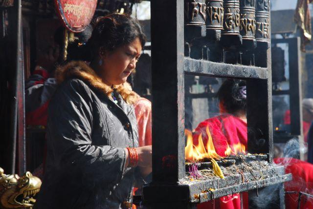 Zdjęcia: Patan, Dolina Kathmandu, Obrzędy religijne , NEPAL